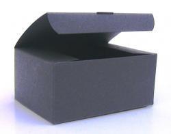 Klappdeckelbox mittel, schwarz