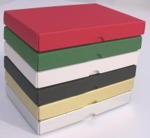 Stülpdeckel-Box DIN A6, flach Höhe 2 cm